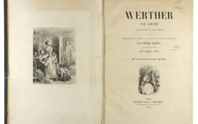 Az ifjú Werther szenvedései francia kiadása