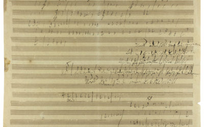 Beethoven autográf kompozíciója