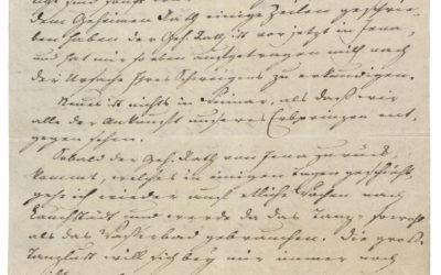 Christiane Vulpius levele Dr. Meyernek