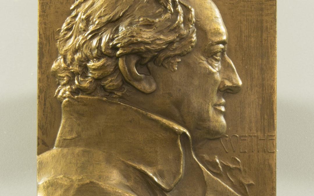 Stiasny Goethe-plakettje