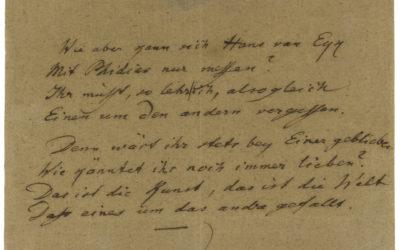 Goethe tréfás találóskérdése