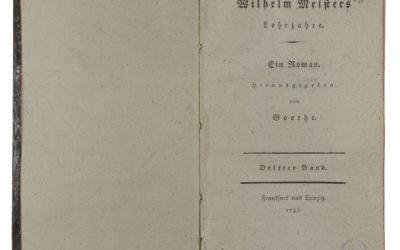 Goethe: Wilhelm mester tanulóévei, 1795-1796 – zenei melléklettel