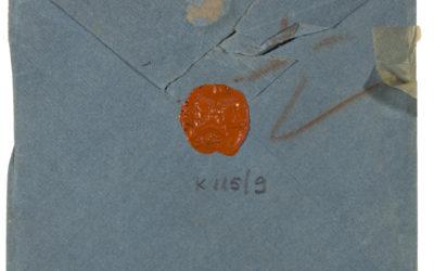 Goethe által címzett boríték