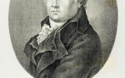 H E. von Winkler: Johann Friedrich Reichard, metszet