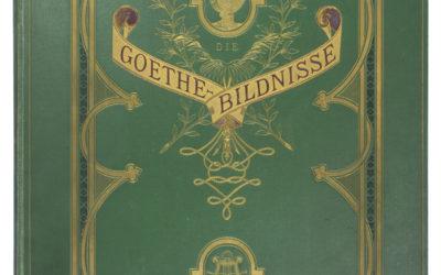 Hermann Rollett: Die Goethe-Bildnisse