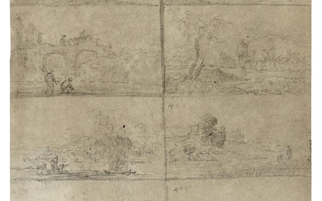 Itáliai képek, Goethe rajza