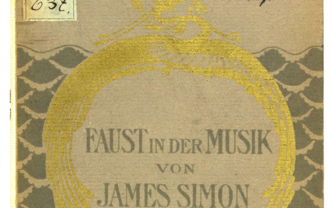 James Simon: Faust a zenében