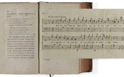 Megzenésített vers a Wilhelm mester tanulóéveiből