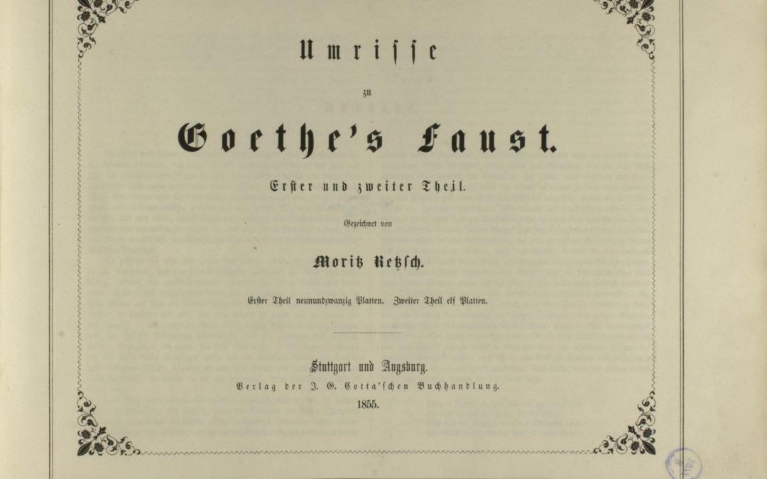 Moritz Retzsch Faust-könyve