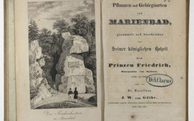 Friedrich August II, Carl Joseph Heider és Goethe közös kötete